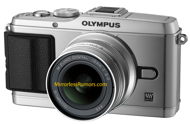 Is this what the new Olympus E-P3 looks like?