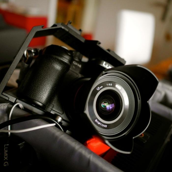 Samyang/Rokinon 12mm f/2 0 NCS CS MFT Video Test Review