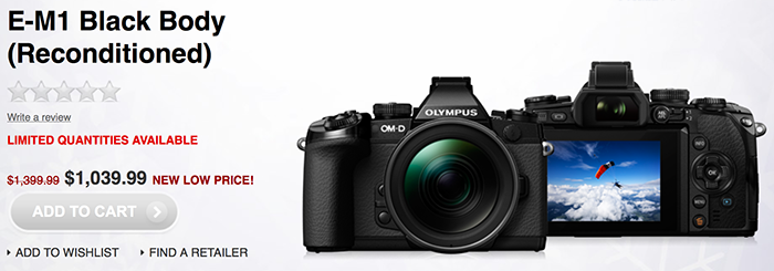 Certified Reconditioned We support Olympus Certified Reconditioned products with a day repair warranty and day money back guarantee *. We support Olympus Certified Reconditioned products with a day repair warranty and day money back guarantee *.