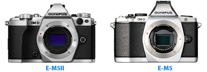 E-M5II-vs-E-M5-size-comparison