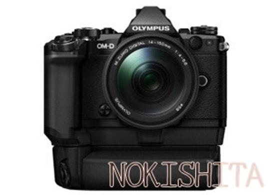 Olympus-E-M5II-camera-HLD-8G+HLD-6P-550x389