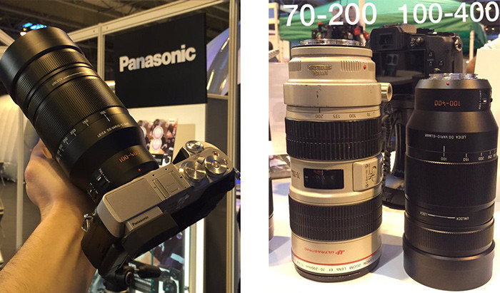Two new 100-400mm Leica MFT lens pictures from Casey