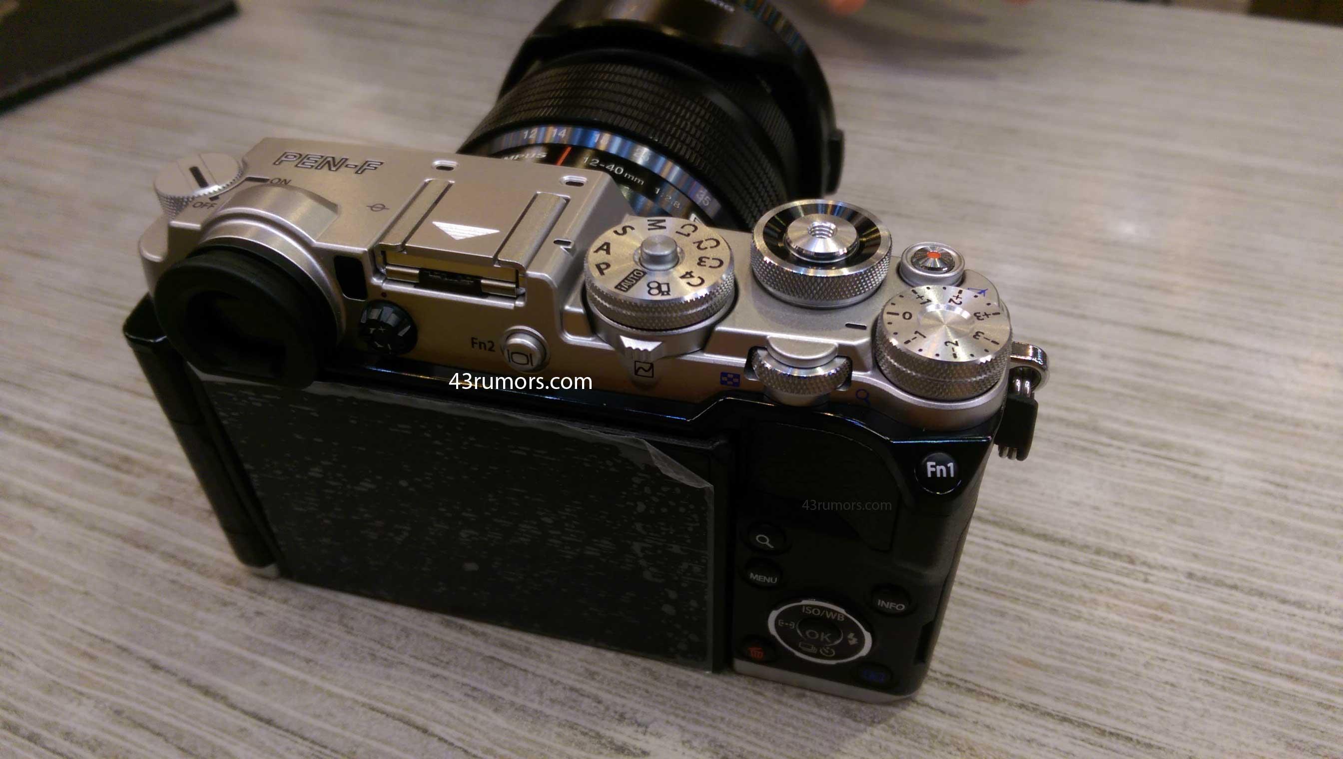 Thông tin chi tiết về chiếc máy Olympus Pen-F ra mắt trong 2 ngày nữa:cảm biến 20 Mpx, chụp 50 Mpx - 108914