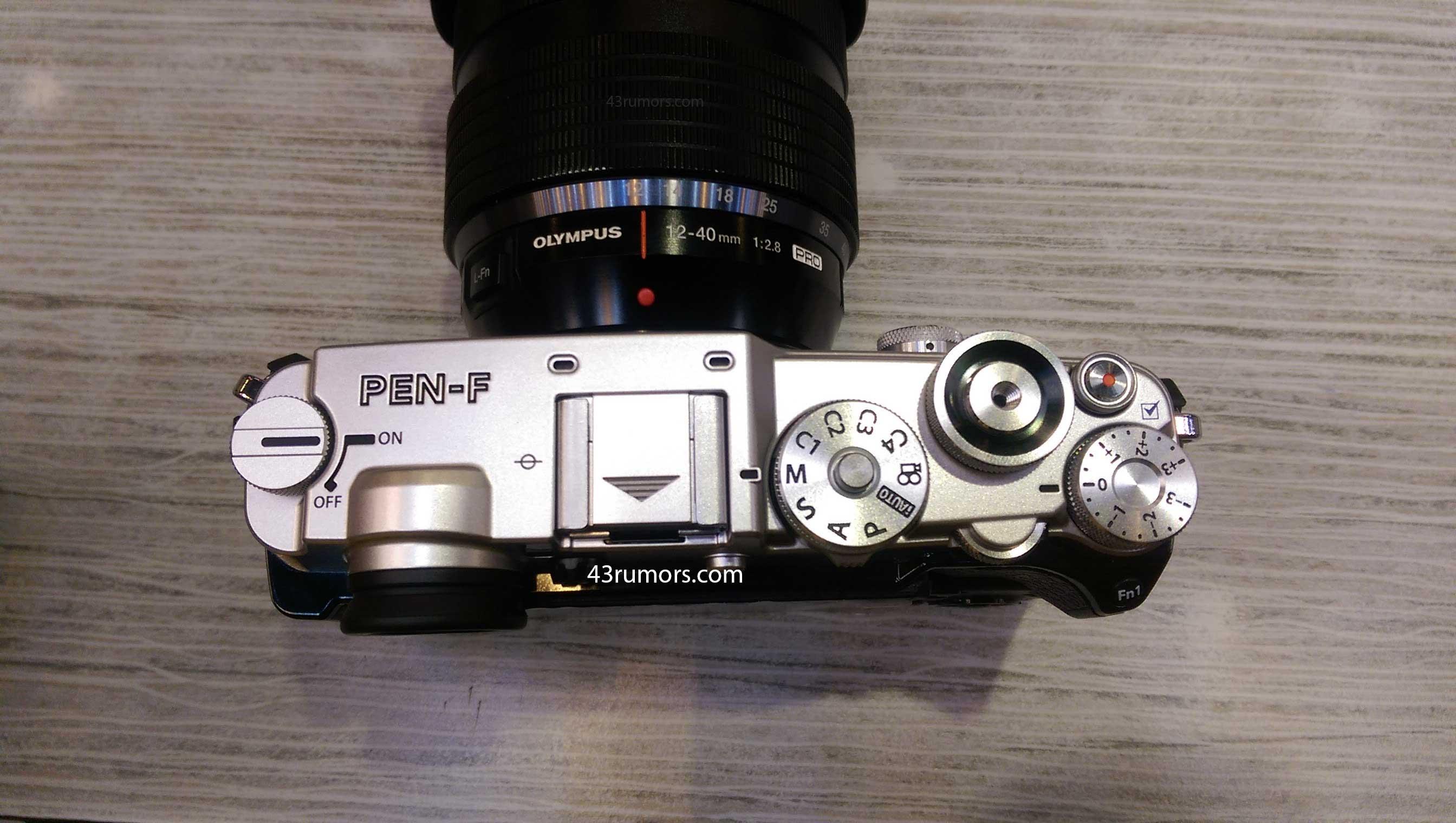 Thông tin chi tiết về chiếc máy Olympus Pen-F ra mắt trong 2 ngày nữa:cảm biến 20 Mpx, chụp 50 Mpx - 108915