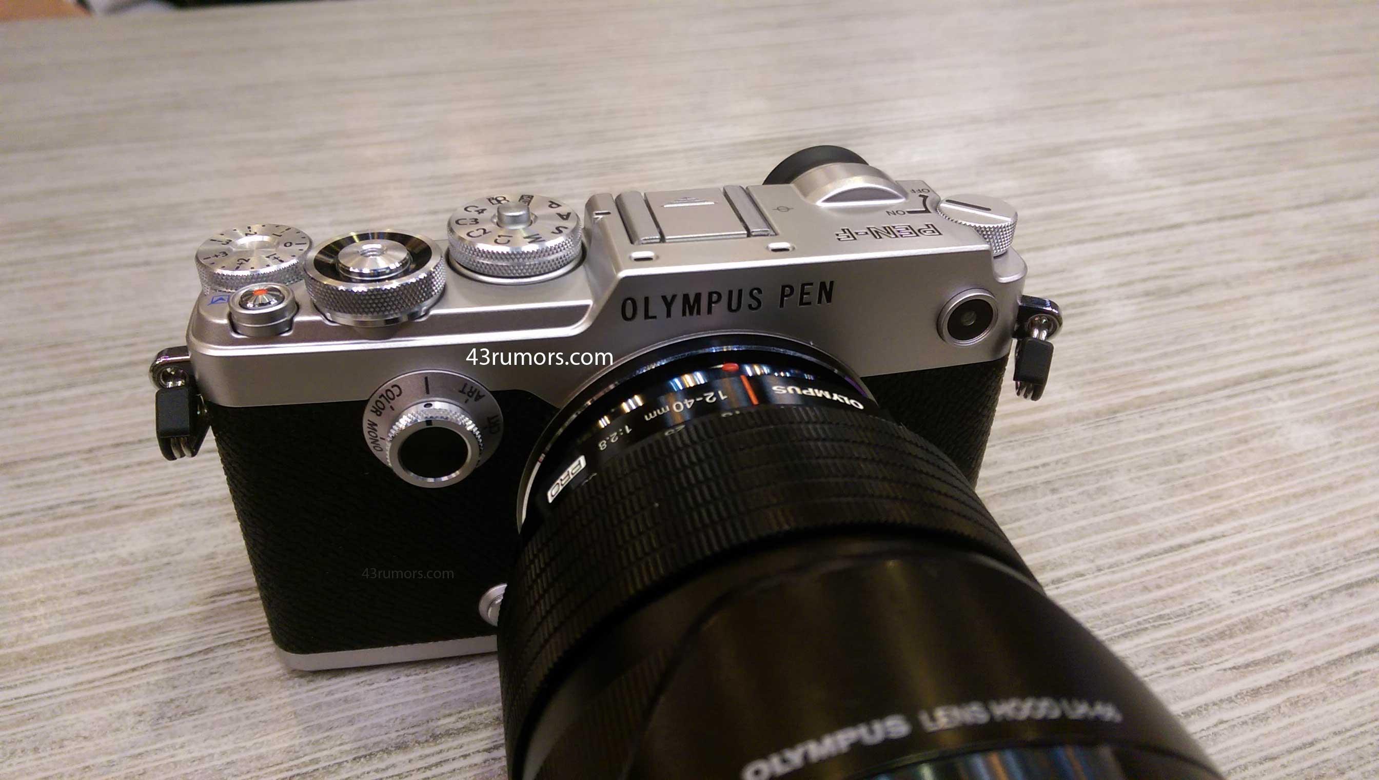 Thông tin chi tiết về chiếc máy Olympus Pen-F ra mắt trong 2 ngày nữa:cảm biến 20 Mpx, chụp 50 Mpx - 108912