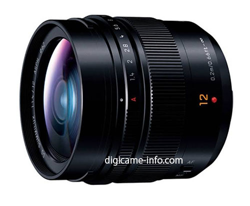 Panasonic 12mm f1.4 Summilux ASPH lens