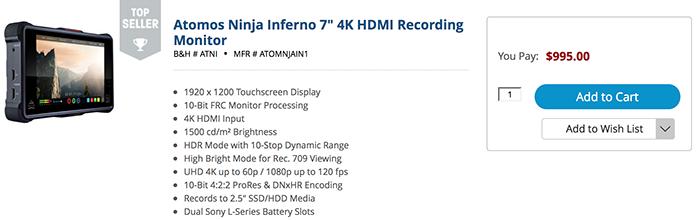 Atomos Ninja Inferno and GH5 - 10-bit 4:2:2 4K at 60p - Worth it