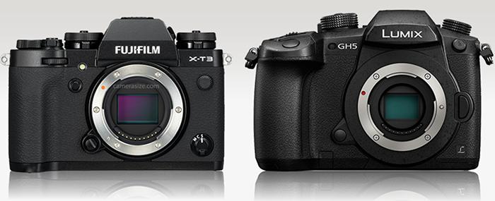 Dpreview test: New Fuji X-T3 versus the Panasonic GH5 - 43 Rumors