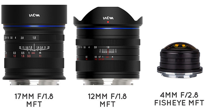 Venusoptics will shows these three new MFT lenses at Photokina: 17mm f/1.8, 12mm f/1.8 and 4mm f/2.8!