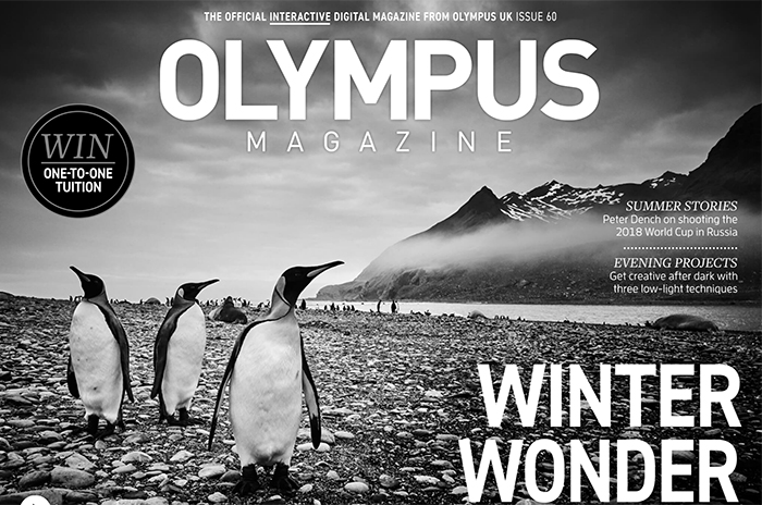 New free Olympus Magaizne issue released