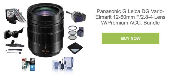 Panasonic-Leica 12-60mm superbundle deal at Adorama - 43 Rumors