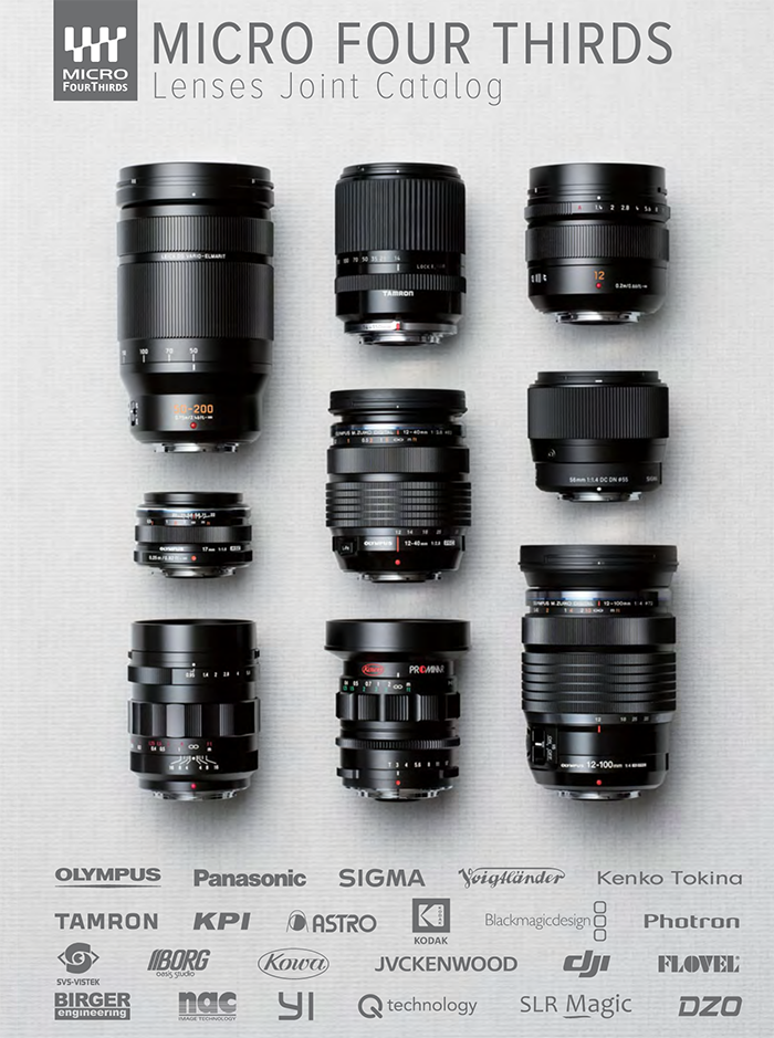 Here is the newly updated MFT Lens catalog - 43 Rumors