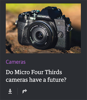 Engadget: Do Micro Four Thirds cameras have a future?