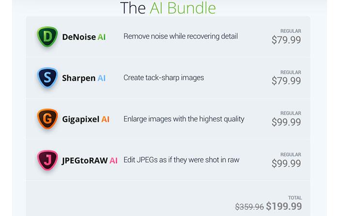 $150 off on the TOPAZ superbundle - 43 Rumors