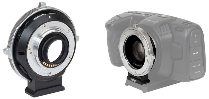 Metabones Introduces a New Series of Speed Booster for BMPCC 4K