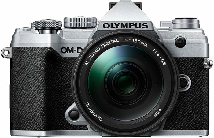 Press text: New Olympus OM-D® E-M5 mark iii empowers you to break free from heavy gear - 43 Rumors