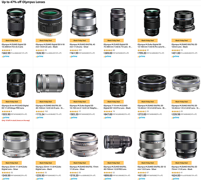 meilleure sélection réflexions sur économies fantastiques Today only: Up to 24% off on Olympus cameras at Amazon ...
